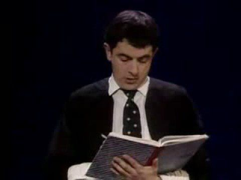 Rowan Atkinson Assembly Sorry About The Ad Funnyhaha Pinterest Rowan The O 39 Jays And