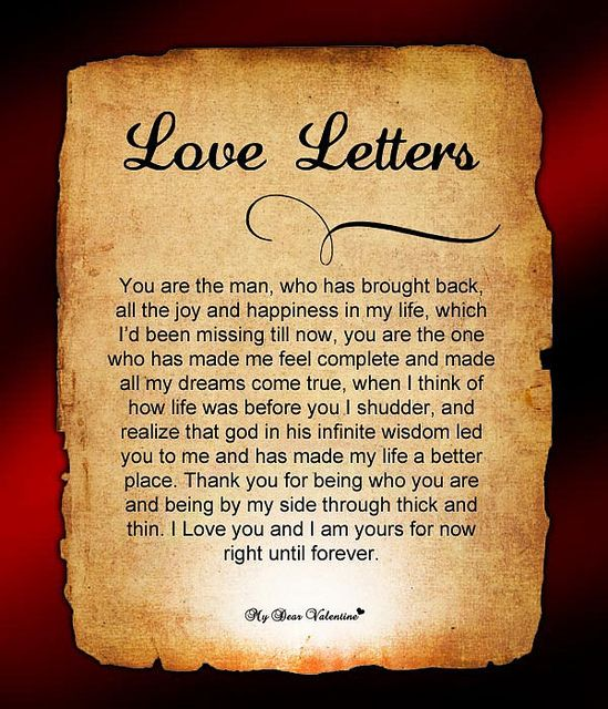 Love Letters for Him   Flickr - Photo Sharing!