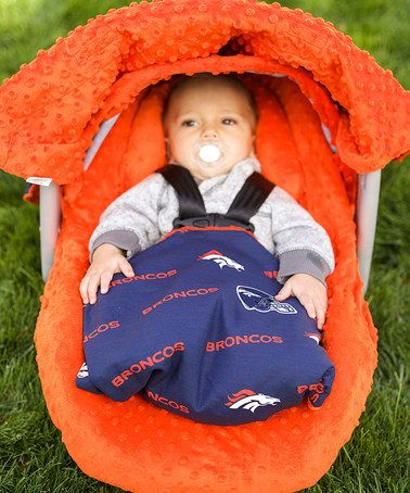 Another great find on #zulily! Denver Broncos Car Seat Caboodle Set by Baby Fanatic #zulilyfinds