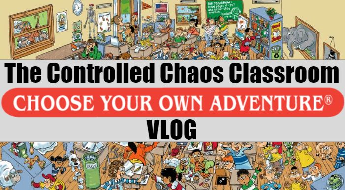 My classroom is probably best described as controlled chaos. Some students are…