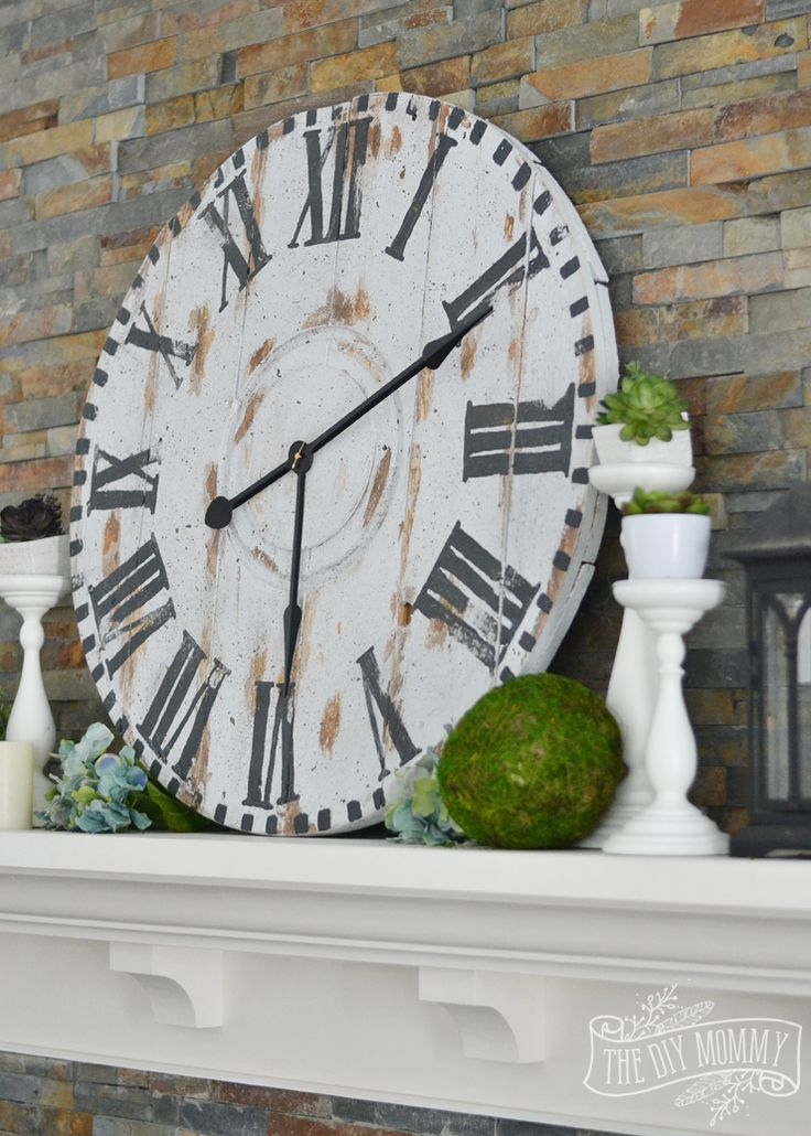 How to make a large DIY reclaimed