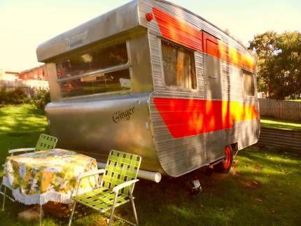 1965 Viscount Ambassador 13ft Caravan - Vintage Retro Classic   Caravans   Gumtree Australia South Gippsland - Korumburra   1128133928