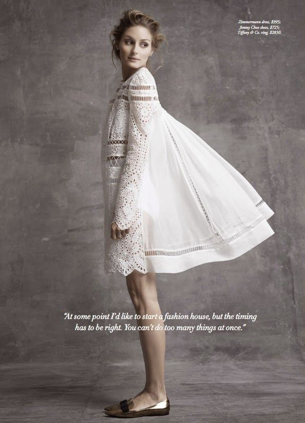 The Olivia Palermo Lookbook : Olivia Palermo For Harper's Bazaar Australia