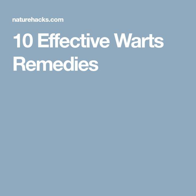 10 Effective Warts Remedies