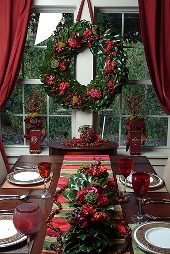 Decorating for the holiday... Winter Christmas