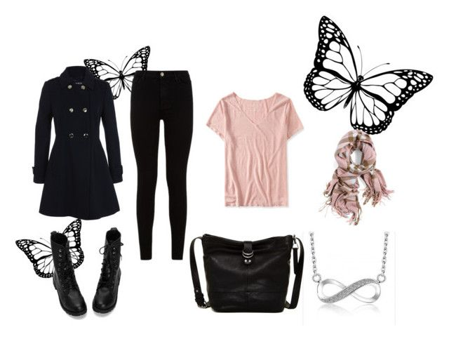 """""""Rose Quartz"""" by lizdalma on Polyvore featuring Aéropostale, Miss Selfridge, Lucky Brand, 7 For All Mankind, women's clothing, women, female, woman, misses and juniors"""