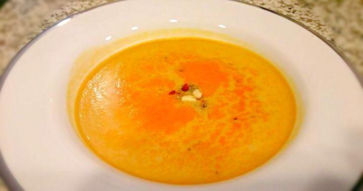 マイシェフ's dish photo 出張シェフのマイシェフ オマール海老ビスクのフラン | http://snapdish.co #SnapDish #まかない/プロの手料理 #お昼ご飯 #クリームスープ #ポタージュ