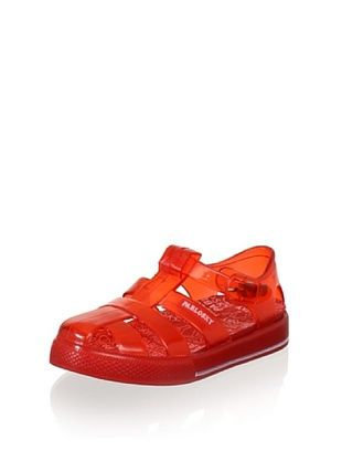68% OFF Pablosky Kid's Buckle Jelly Sandal (Red)