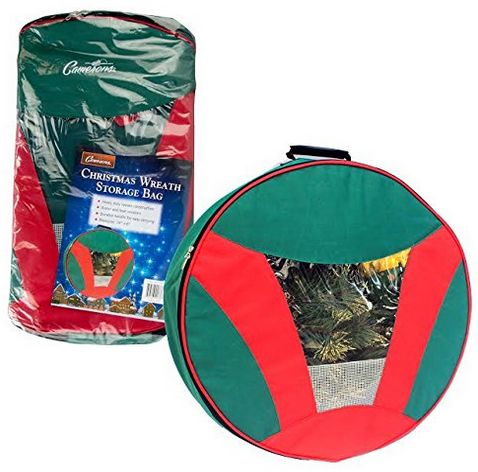 christmas wreath storage bag with handles reg closet of free