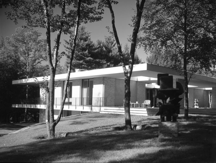 Day House, John Black Lee Architect, 1970, New Canaan, CT