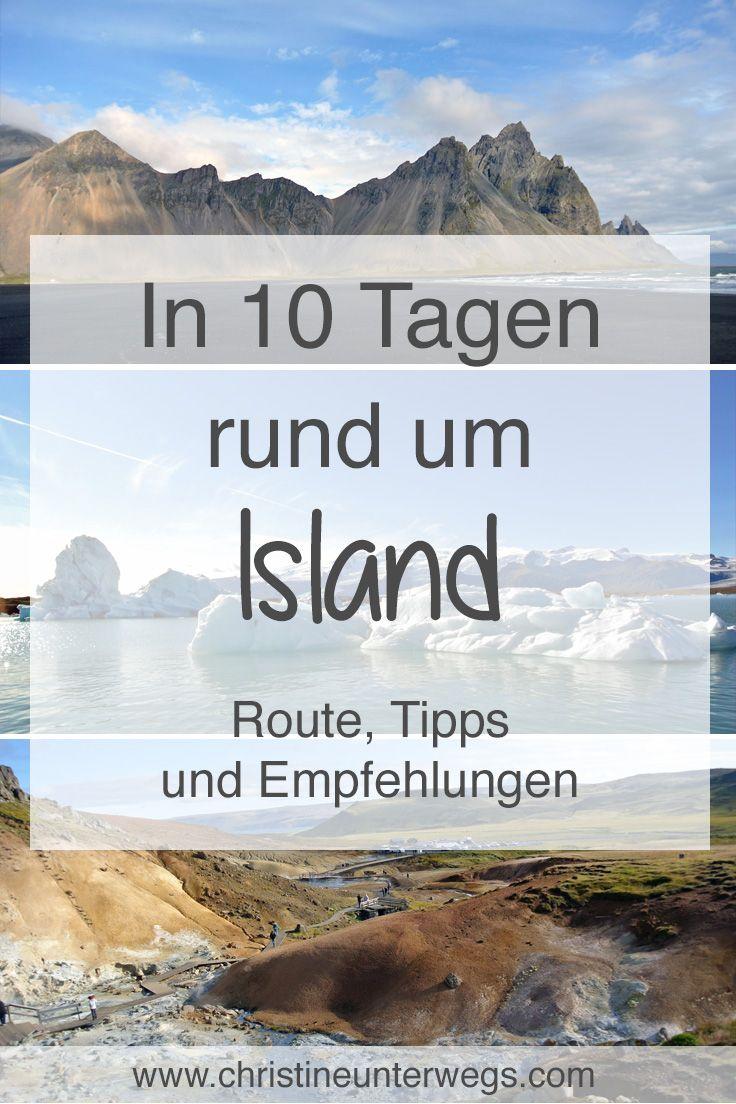 Meine Tipps für eine 10-tägige #Rundreise rund um #Island findest du hier: https://www.christineunterwegs.com/reisen/island/in-10-tagen-rund-um-island/