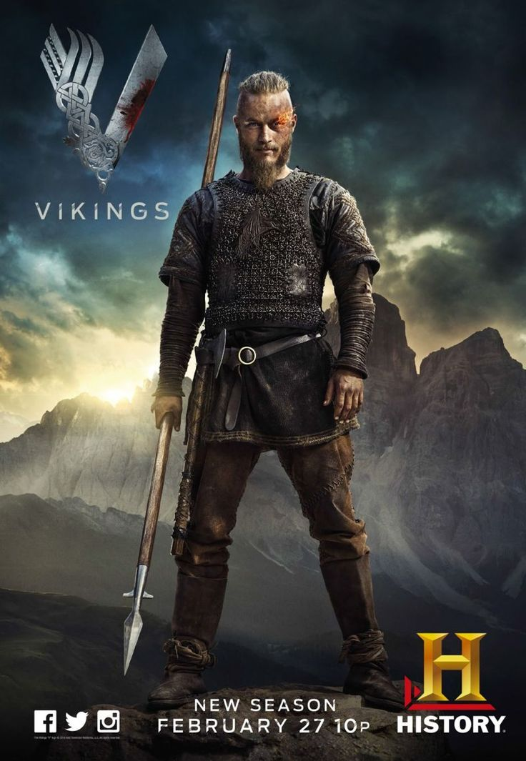 VIKINGS Season 2 Poster. Feb. 27th. I can't wait!!!