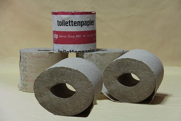 DDR Toilet paper