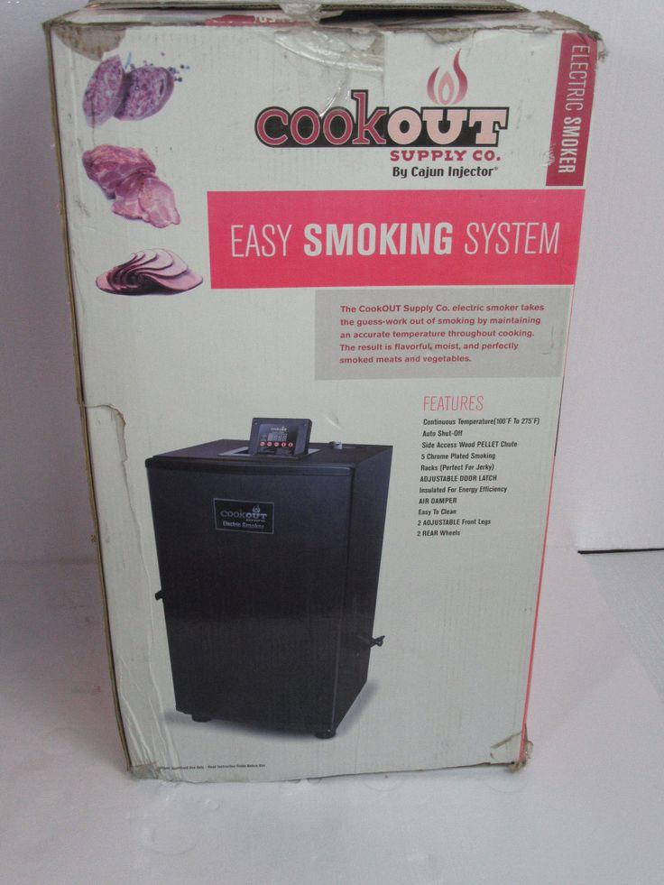 Cajun Injector Electric Smoker