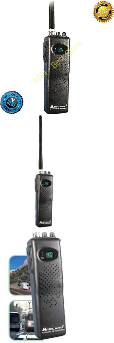 CB Radios: New Channel Midland Cb Radio Mobile Model Handheld Transceiver Weather Portable -> BUY IT NOW ONLY: $45.13 on eBay!