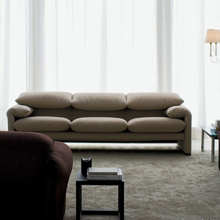 The Maralunga Three Seater Sofa Is An Extremely Comfortable Sofa, Brought  To You By The Italian Designer Vico Magistretti.