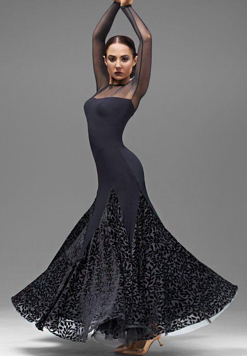 Chrisanne Harmony Ballroom Dance Dress| Dancesport Fashion @ DanceShopper.com Supernatural Style