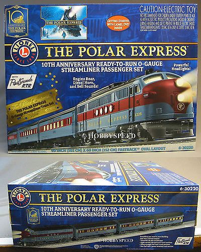 Empty Boxes 180252: Lionel Polar Express Diesel Set Box Train Empty O Gauge Diesel 6-30220 Box Only -> BUY IT NOW ONLY: $40 on eBay!