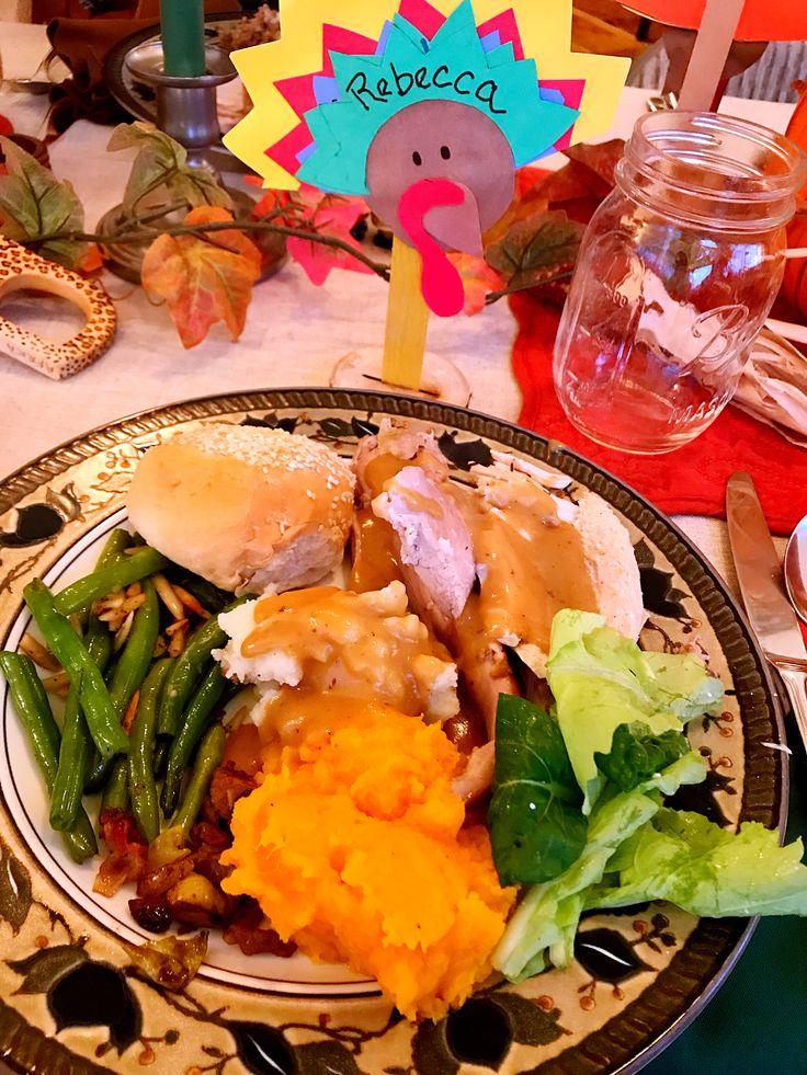 Thanksgiving Food.