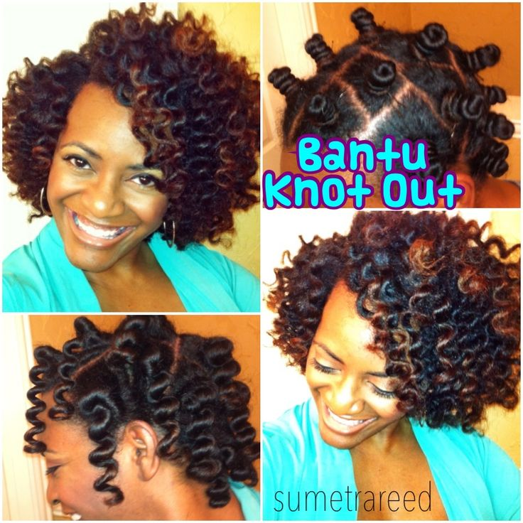 My first successful bantu knot out using cantu shea butter coconut curling cream. Video coming soon!!!