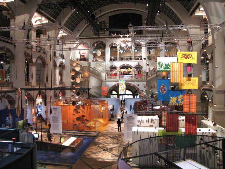 Tropenmuseum binnenzijde, Amsterdam