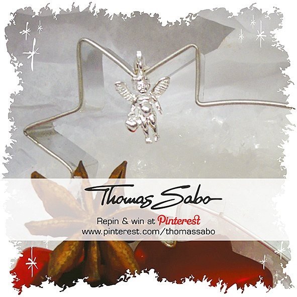 The lucky winner will be drawn and informed on November 26, 2012! Important: Your facebook or twitter account must be linked to your Pinterest profile! Terms and conditions: http://images.thomassabo.com/www/2/2012/11/TC-Pinterest-Xmas-Sweepstake.pdf: Sabo Charms, Sweet Angel, Xmas Angel, Charm S Sabo, Charming I, Xmas Charm S, Xmas Charms