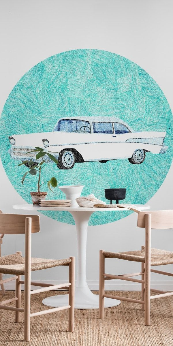 Your New Car Wall Mural Childrens Wall Murals Baby Room Art