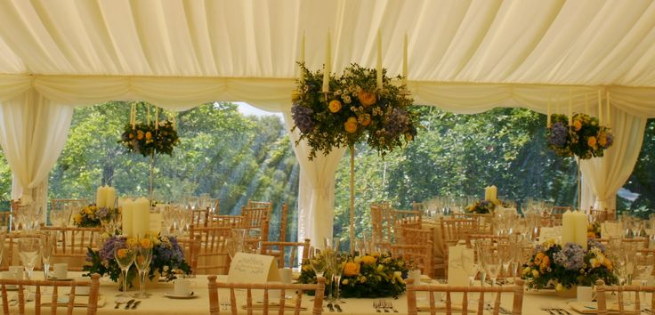 1000 Images About Wedding Marquee Flowers On Pinterest