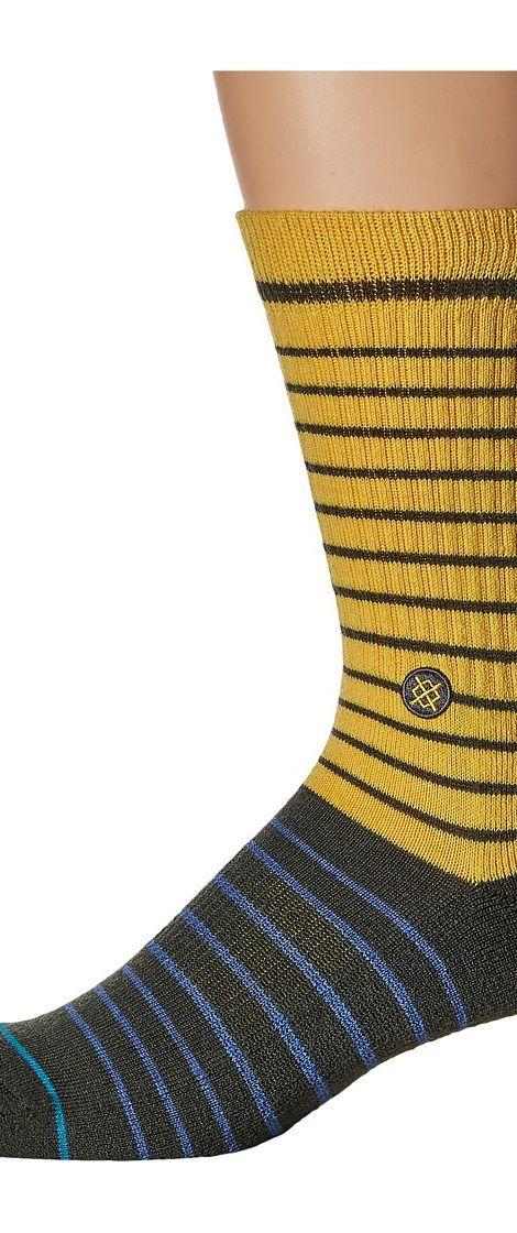 Stance Puma (Gold) Men's Crew Cut Socks Shoes - Stance, Puma, M526C16PUM-GLD, Footwear Socks Crew Cut, Crew Cut, Socks, Footwear, Shoes, Gift - Outfit Ideas And Street Style 2017
