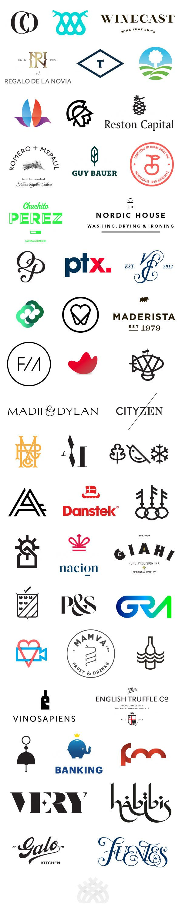 50 Logo Designs by Anagrama