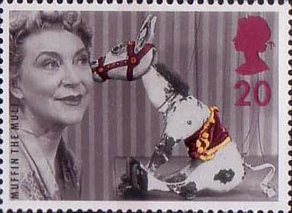Big Stars from the Small Screen - Children's TV Characters 20p Stamp (1996) Muffin the Mule