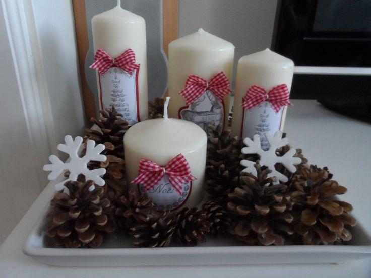 Sviečková dekorácia