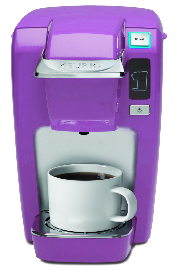 "Pantone announced today the 2014 Color of the Year will be Radiant Orchid! We are even more excited to share that the K10 MINI Plus K-Cup brewer will be available in the new ""it"" color! It will launch on http://krg.bz/1d1ndH9 and at retailers nationwide in February 2014. Stay tuned for more details on this brewer and other exciting new colors to come! #Keurig"