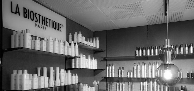 Products display of Coiffure Bücheler - Meiringen