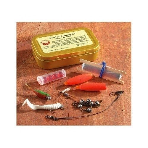 Activities First Aid Fishing 15-Pc. Emergency Survival Fishing Kit Sports