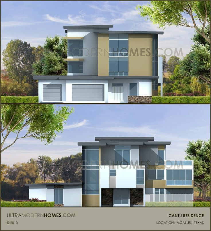 19 best ultra modern contemporary custom home design for Modern house design jamaica