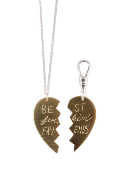 BFF Animal Tag Necklace Set