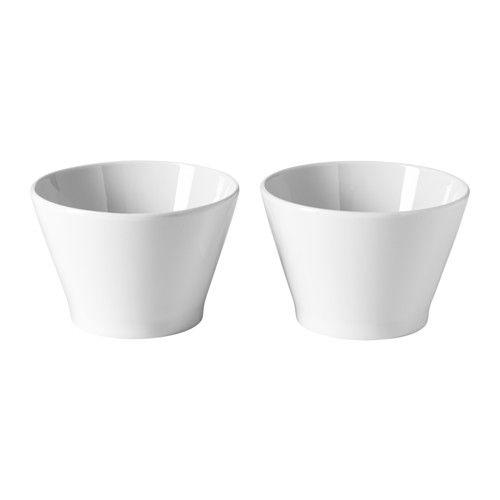IKEA - IKEA 365+, Ciotola, La ciotola resiste agli urti ed è durevole poiché è in porcellana feldspatica.Puoi usare la ciotola sia per mangiare che per servire i cibi.Grazie al design intramontabile e pratico, questo articolo si adatta a ogni occasione, 365 giorni all'anno, indipendentemente da quello che servi in tavola.Grazie alla forma intelligente, puoi inserire le misure più piccole in quelle più grandi, per guadagnare spazio.