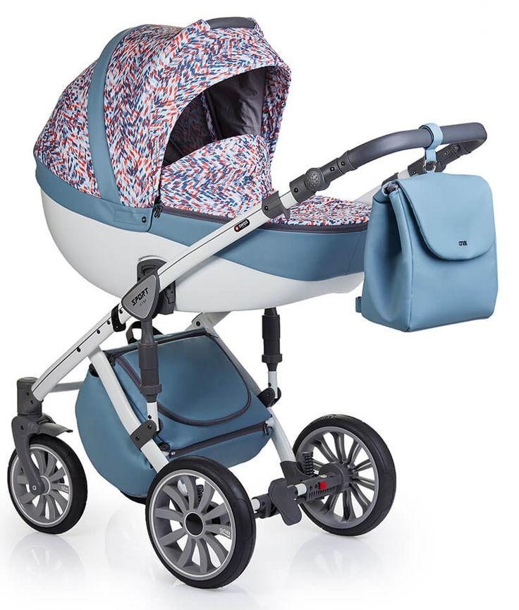 Детская коляска Anex Sport 3 в 1 - купить в Москве