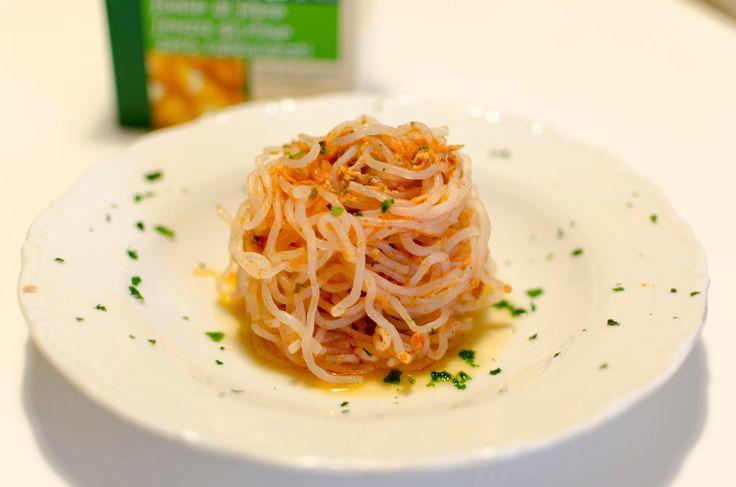 Lo Scalogno d'Oro: Spaghetti Shirataki al Tonno by Gisè (Dieta Dukan PP)