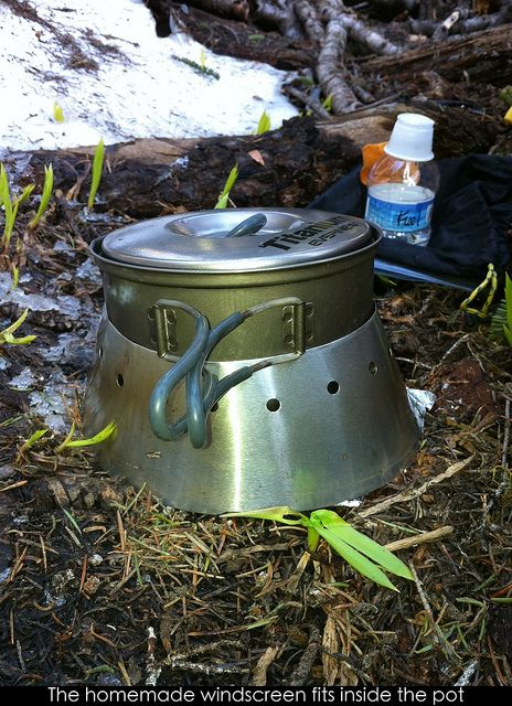 87 best images about m y o g diy hiking gear on pinterest for Diy cooking stove
