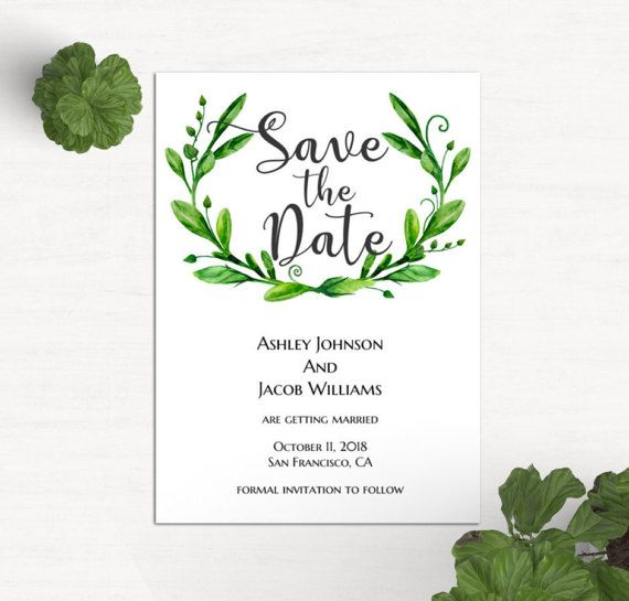 Save The Date Template Printable Templates Free Download Ms Word