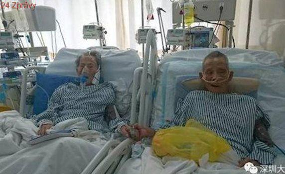 """""""Odejdeme spolu, starý brachu."""" Dva veteráni se po letech shledali v nemocnici"""