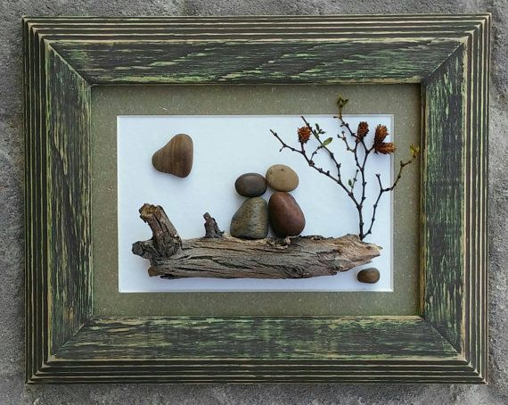 Check out this item in my Etsy shop https://www.etsy.com/listing/450174890/pebble-art-couple-in-the-outdoors-under