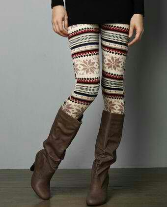 Winter leggings. Love these leggings with UGG boots.  Get your UGG boots at Shoedipity.com.