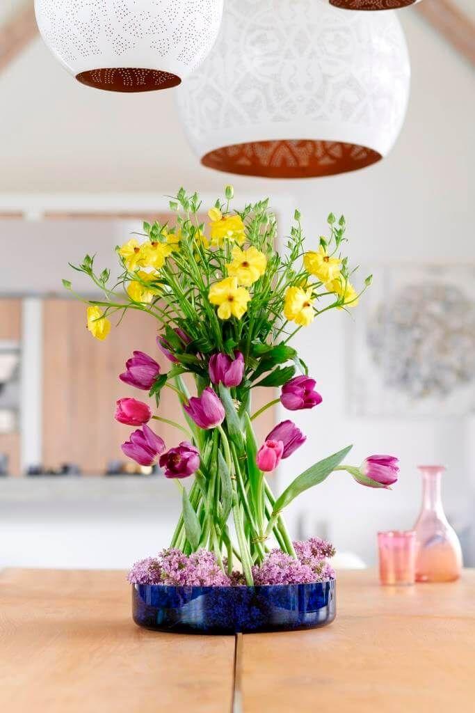 Tulpen Fruhling Im Glas Tulpen Fruhling Blumen Fruhlingsblumen