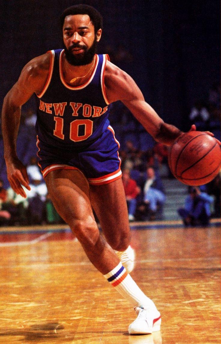 9. Walt Frazier || 15,581 Points (18.9) | 5,040 Assists (6.1) | 4,830 Rebounds (5.9) | 4x All NBA 1st Team | 2x All NBA 2nd Team | 7x All Defensive 1st Team | 7x All Star | 2x NBA Champion