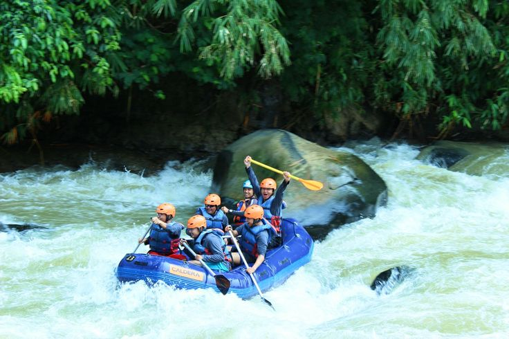 RAFTING KALA HUJAN : Adventure with CARE #Caldera_Indonesia #Rafting Citarik - Sukabumi, West Java Indonesia