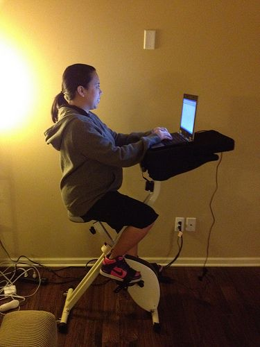 #WellnessWeds: My Fit Desk and How to Build a Desk Station for Your Treadmill
