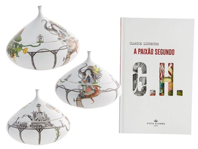 Obra de Clarice Lispector dá vida a porcelanas pelas mãos de sua neta | | Glamurama